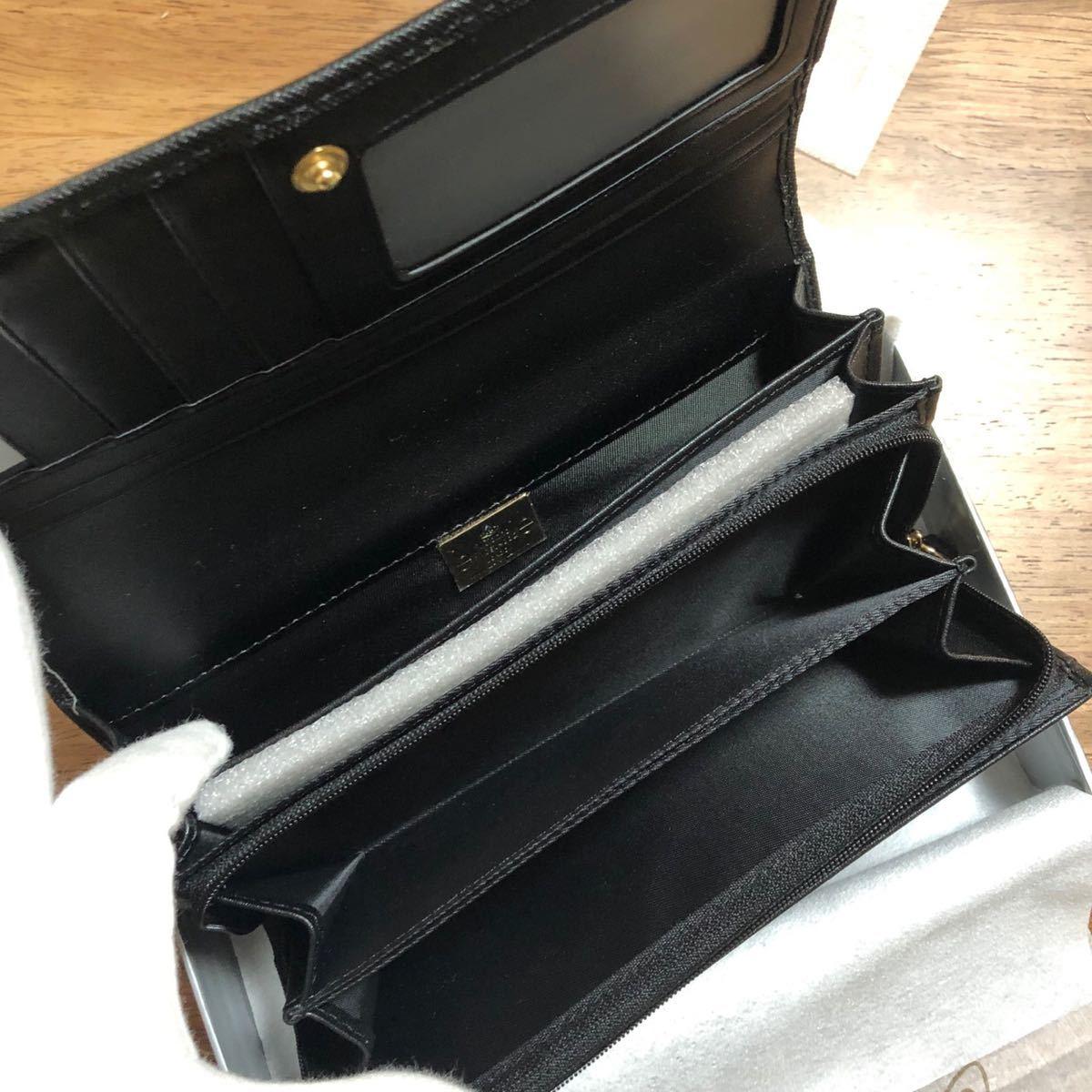 長財布 ヴィヴィアンウエストウッド Vivienne Westwood 黒 レディース財布 新品未使用品