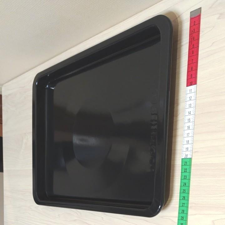 【新品・未使用品】SHARP  オーブンレンジ用 角皿 1枚 品番:3504160139  ラスト1枚