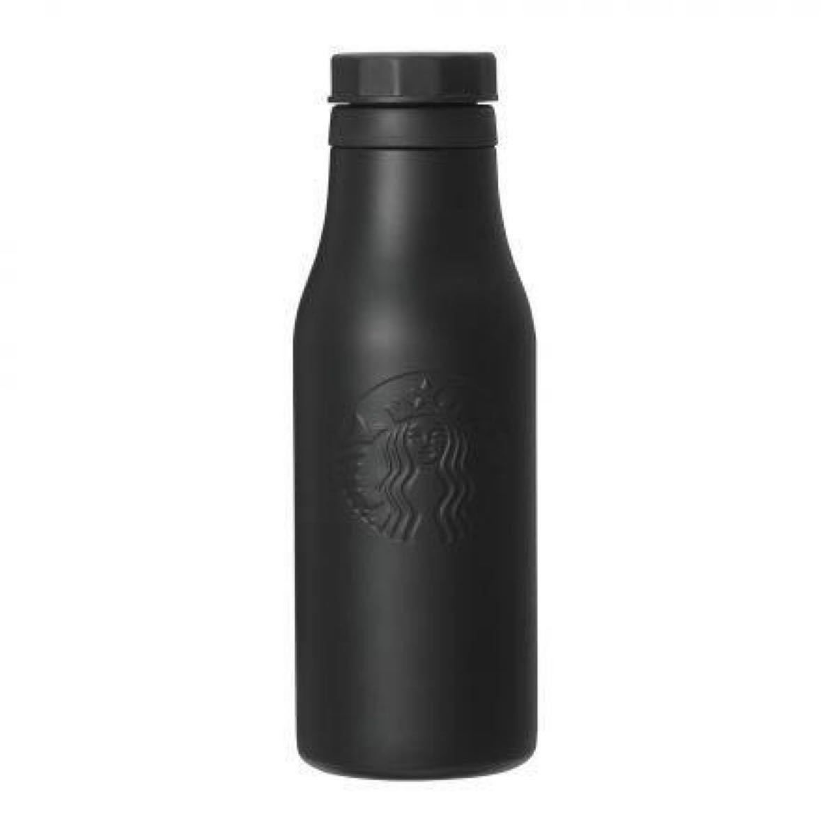 ステンレスロゴボトル マットブラック473ml スターバックス スタバ