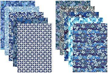 新品 A4判 【.co.jp 限定】和紙かわ澄 特撰 藍染風 手染め 千代紙 友禅和紙 A4判 21×2Q4N3_画像1
