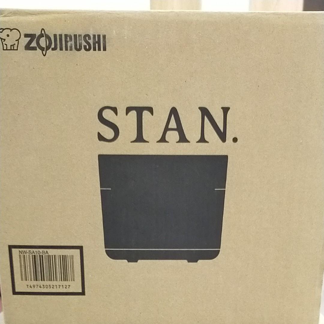 炊飯器 IH炊飯ジャー STAN. by zojirushi NW-SA10-BA ブラック 象印