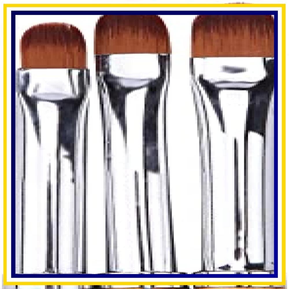 【★大特価★】Kingsie ジェルネイルブラシ 3本セット ラウンド UV ジェルブラシ ネイルアート筆 オーバルブラシ ジェ_画像3
