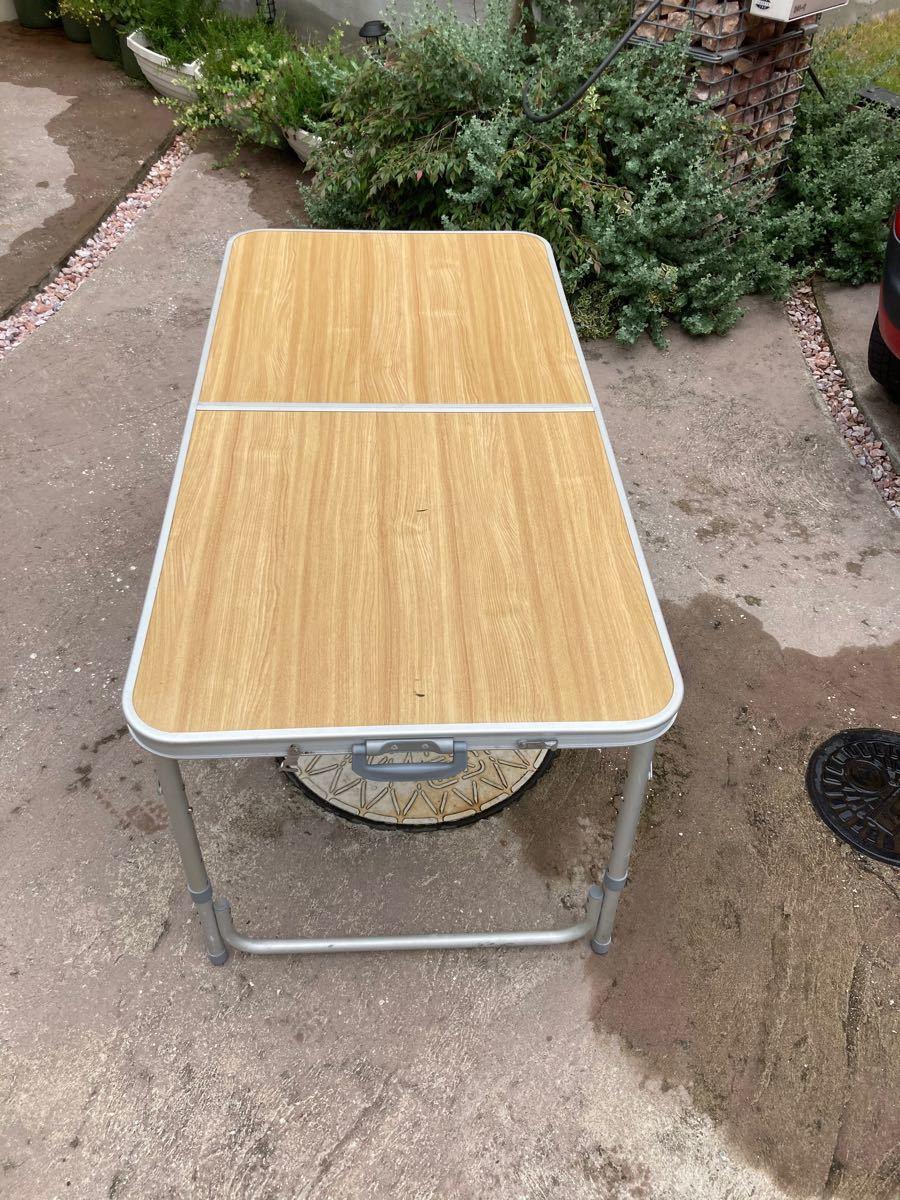 キャンプ テーブル アウトドアテーブル 折りたたみ BBQテーブル