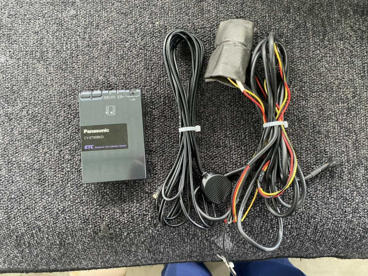 ETC車載器 パナソニック CY-ET908KD R3061802_画像1
