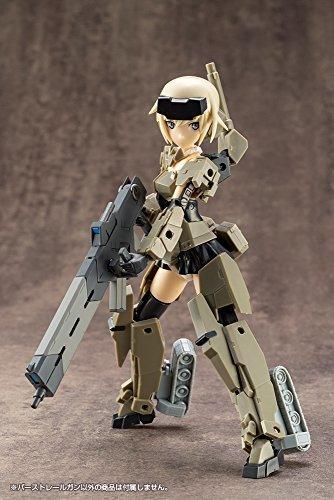 01 バーストレールガン M.S.G モデリングサポートグッズ ウェポンユニット01 バーストレールガン 全長約125mm NO_画像9