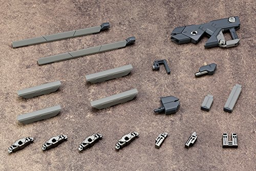 01 バーストレールガン M.S.G モデリングサポートグッズ ウェポンユニット01 バーストレールガン 全長約125mm NO_画像2