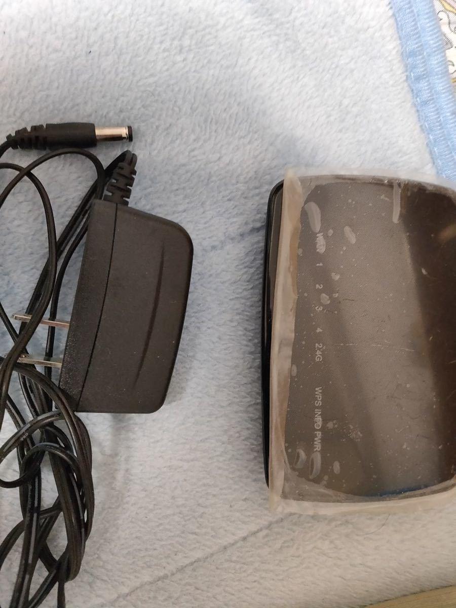 中継機11b/g/n 300Mbps無線LANルーターWRC-300FEBK エレコム