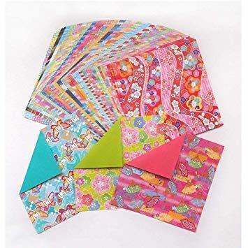 両面 15cm角 トーヨー 折り紙 和紙風 千代紙づくし 両面 15cm角 30柄 120枚入 018060_画像4