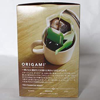 スターバックス 「Starbucks(R)」 ハウスブレンド (箱)オリガミ パーソナルドリップ コーヒー (9g×_画像5
