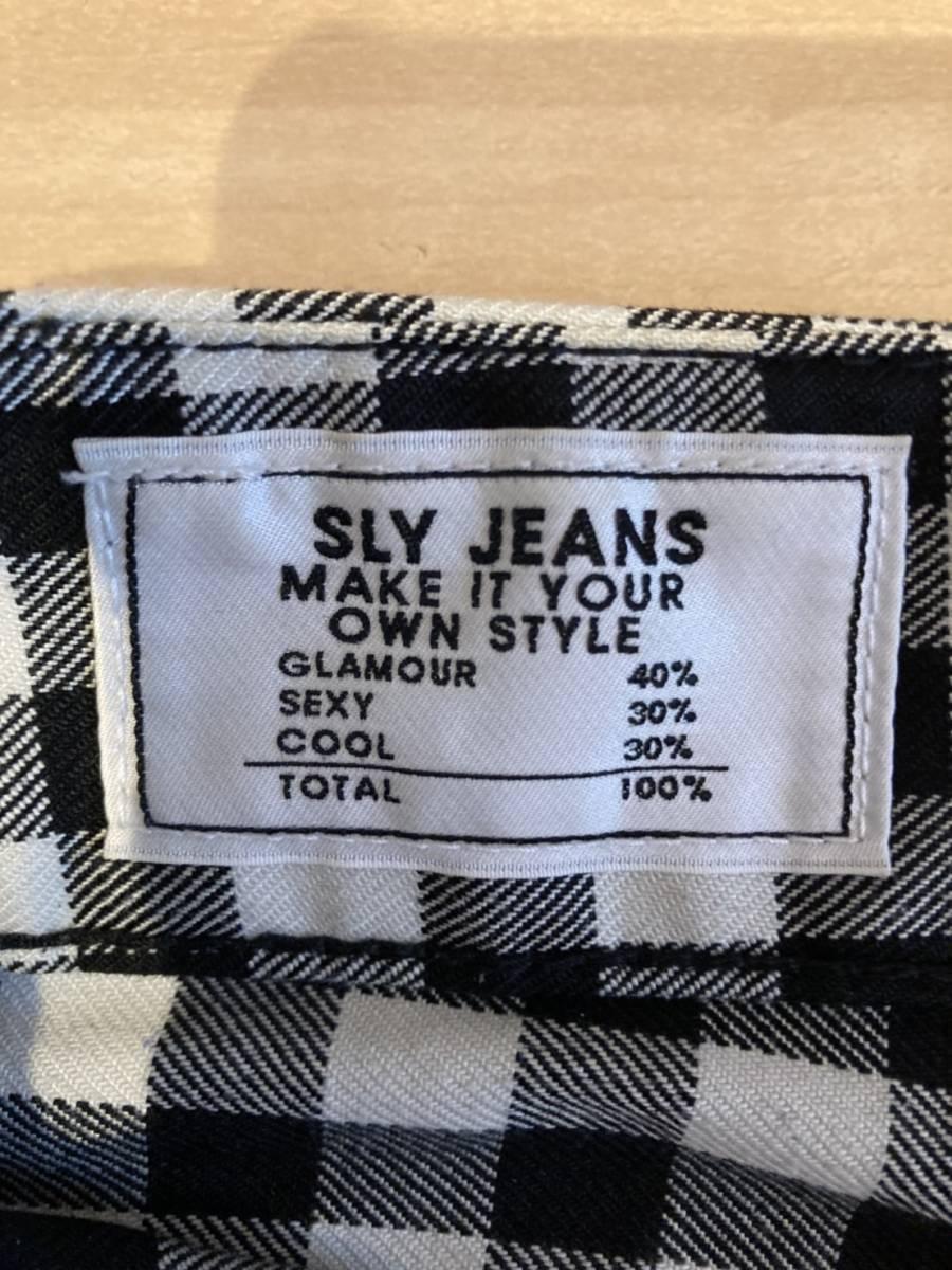SLY チェックパンツ スライ_画像2