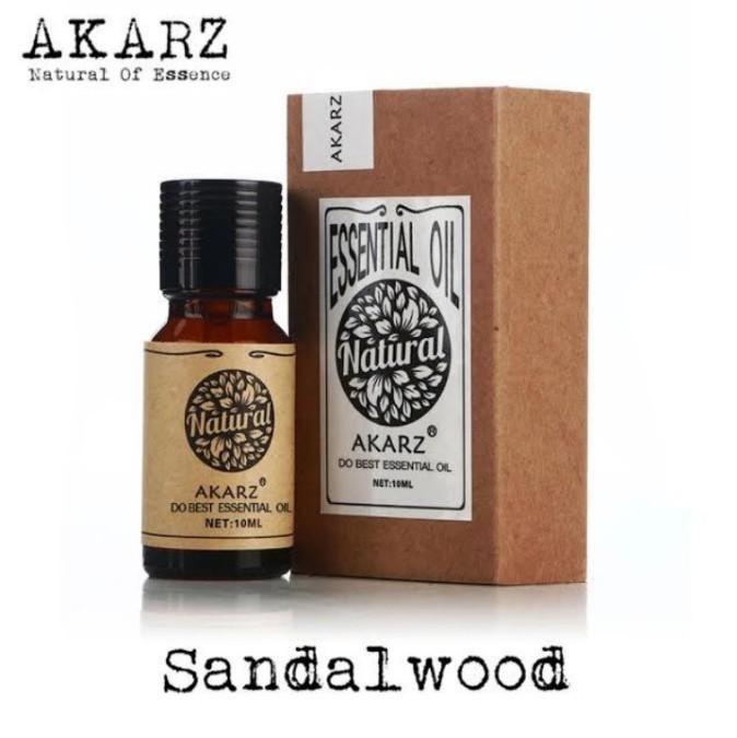 アロマオイル サンダルウッド 白檀 10ml エッセンシャルオイル 精油  AKARZ アロマテラピー