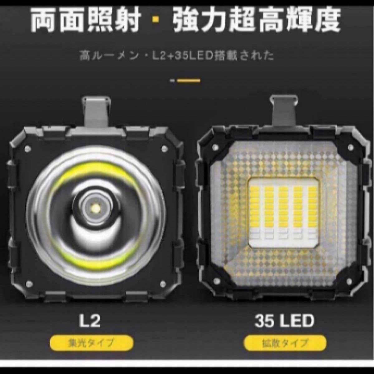 懐中電灯 led 強力 最強 超高輝度 6000ルーメンサーチライト 7モード調光 一台3役usb充電式給電 防水ハンドル付き