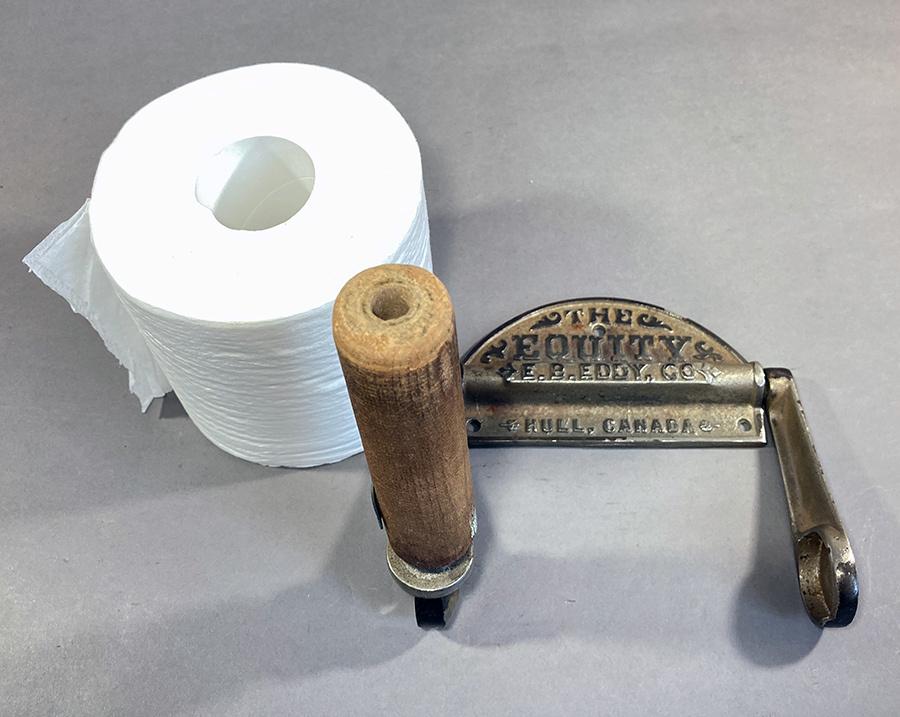 1890's アンティーク トイレットペーパーホルダー/アイアン/ビンテージ/ランプ/o.c.white/カントリー/ドアノブ/店舗什器/照明/シャビー/鏡_画像5
