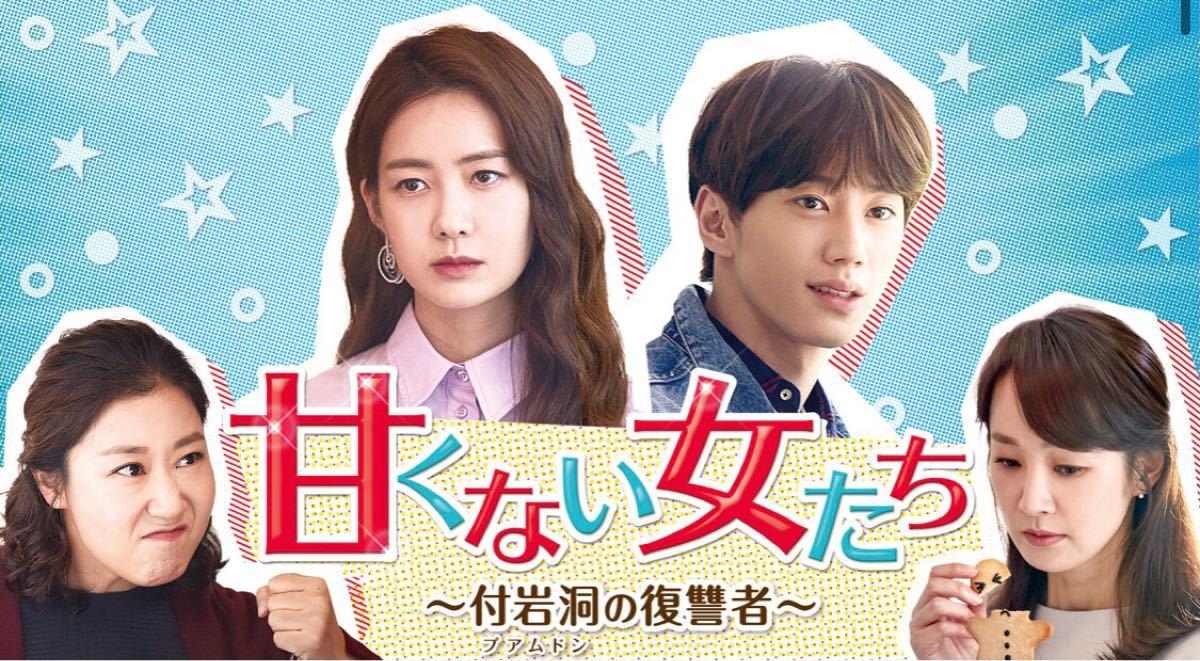 韓国ドラマ全話DVD 付岩洞の復讐者たち(甘くない女たち)