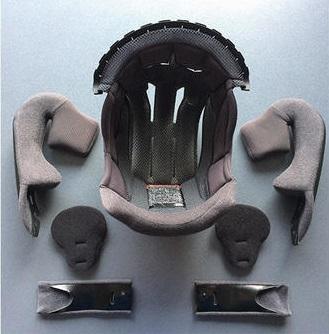 SHOEI ショウエイ J-CRUISE2 ジェイクルーズ2 内装セット XL ヘルメットインナー_画像1