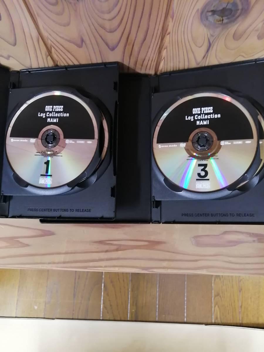 DVD ONE PIECE LOG COLLECTION NAMI 初回限定