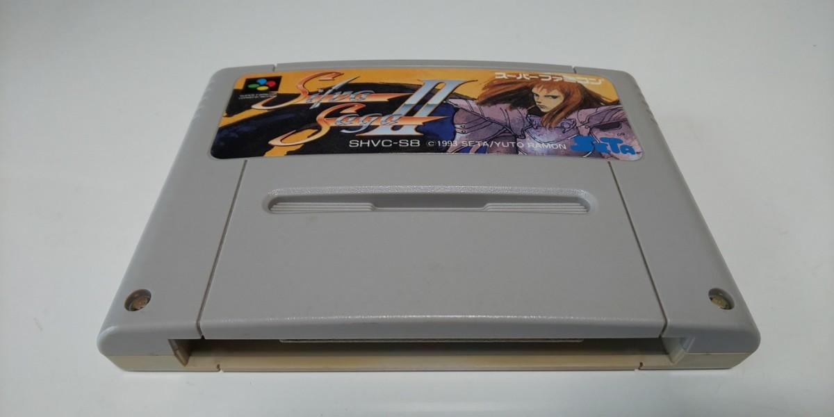 スーパーファミコンソフト シルバサーガ2☆初期動作確認済☆まとめ買い値引き可