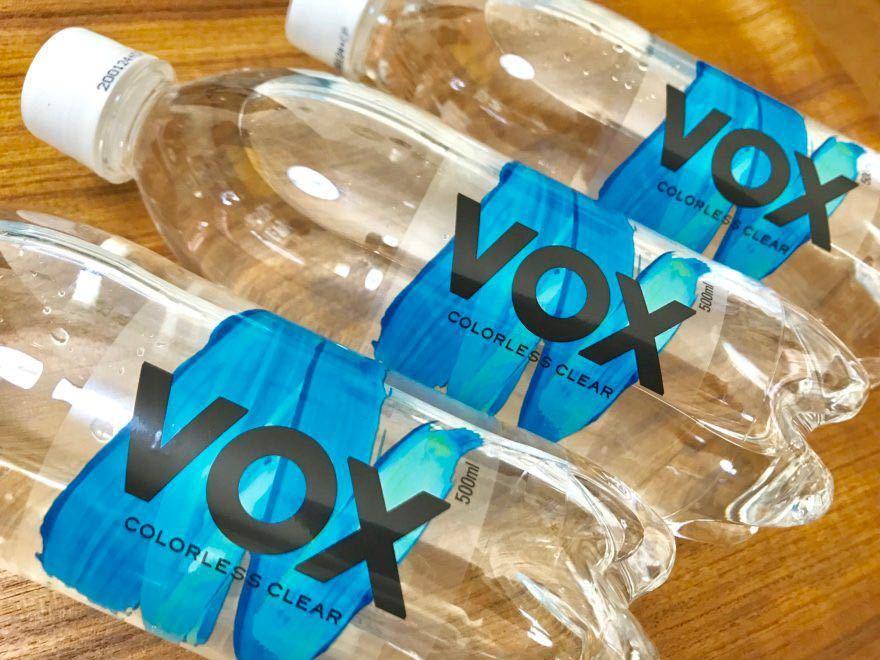VOX(ヴォックス) 強炭酸水 ストレート 500ml×24本_画像1