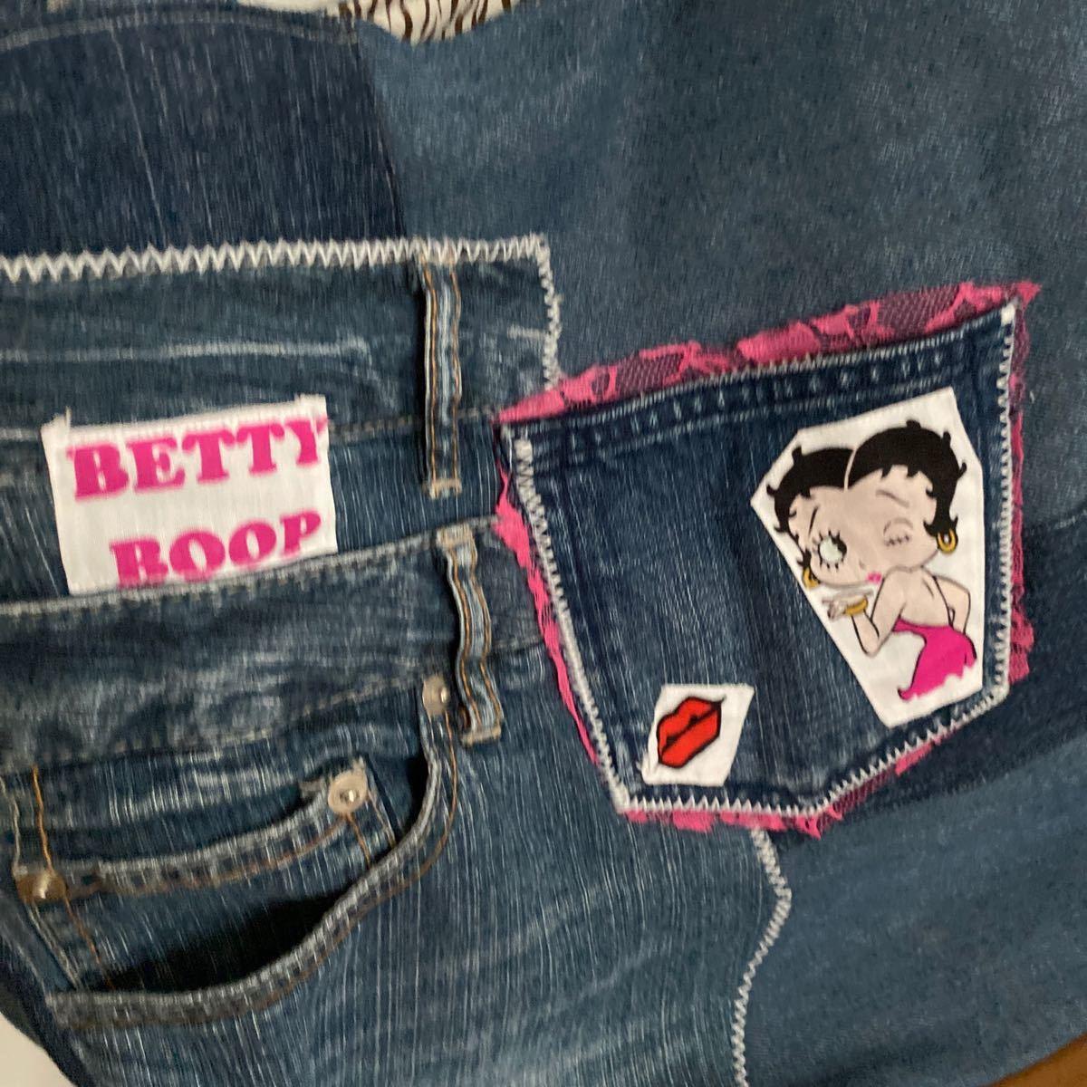 トートバッグ  ハンドメイド 肩がけ ベティ