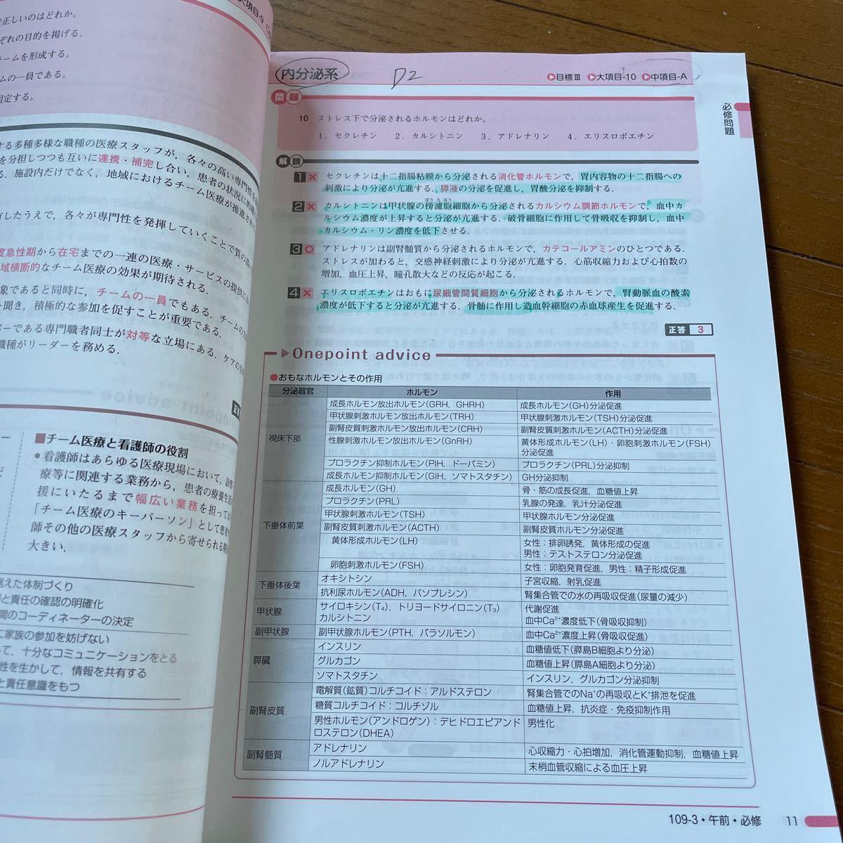 看護師国家試験問題集
