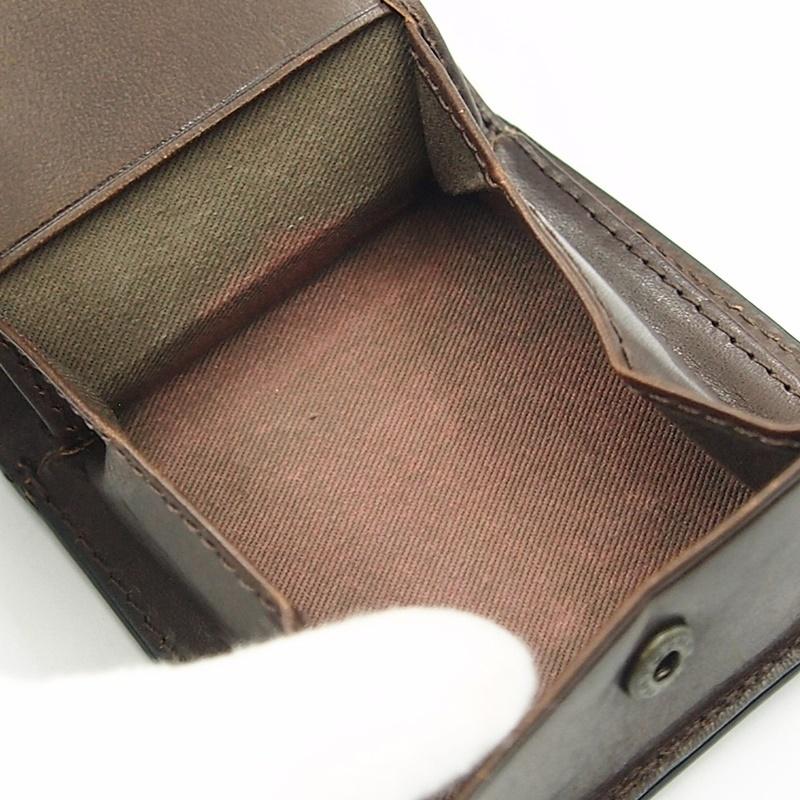 リベロ LA-002 牛革 二つ折り <財布> ブラック ブラウン 黒 折りたたみ カードケース コインケース 小銭入れ レザー メンズ LIBERO_画像9