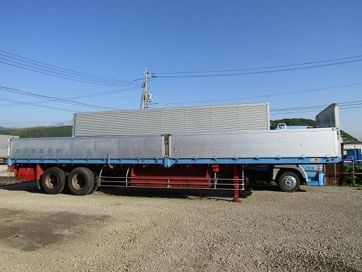 「平成3年式 トレールモービル製 セミトレーラー リーフサス 最大積載量 18,250kg」の画像1