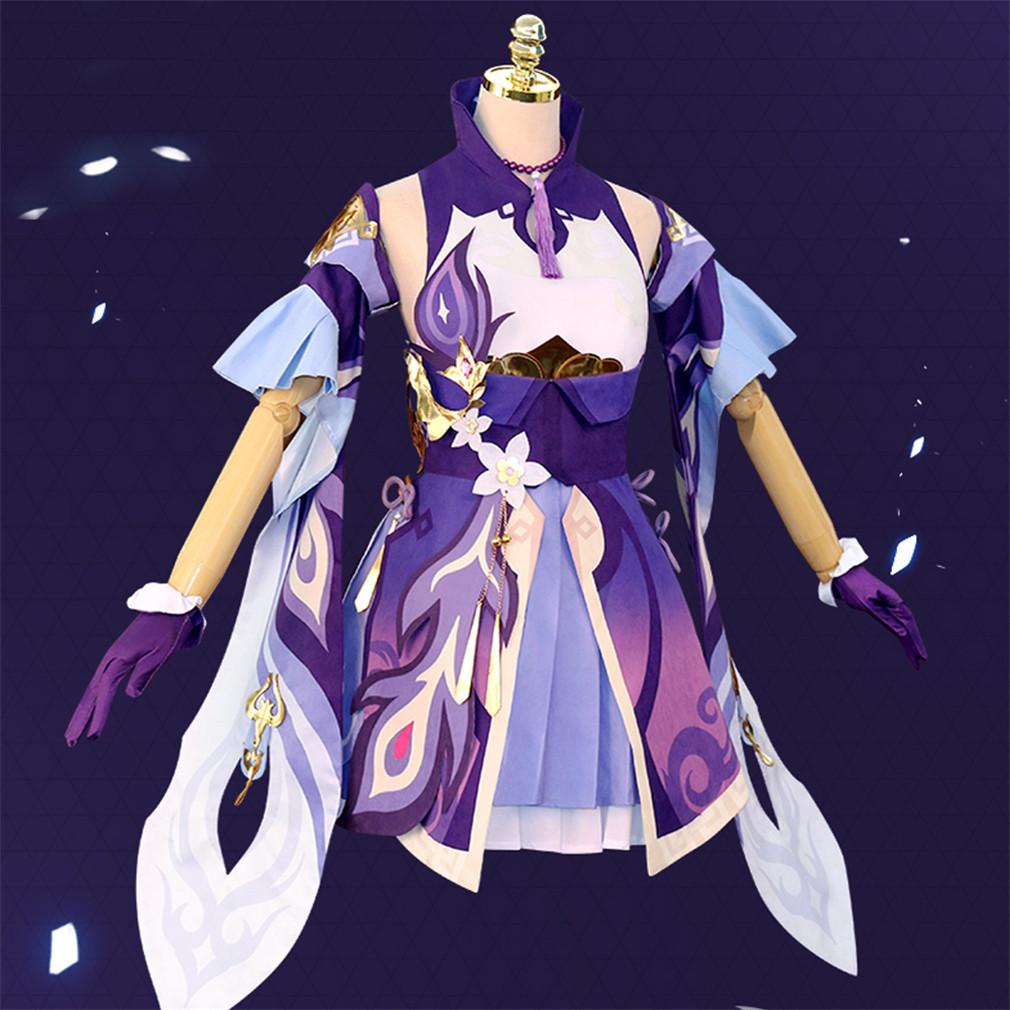 原神 げんしん 刻晴 こくせい コクセイ 風 コスプレ衣装 cosplay コスチューム 変装 仮装 ハロウィン イベント_画像2