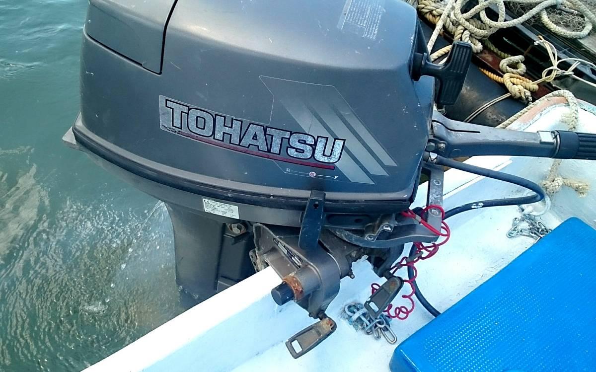 和船  トーハツ9.9馬力搭載 _画像4