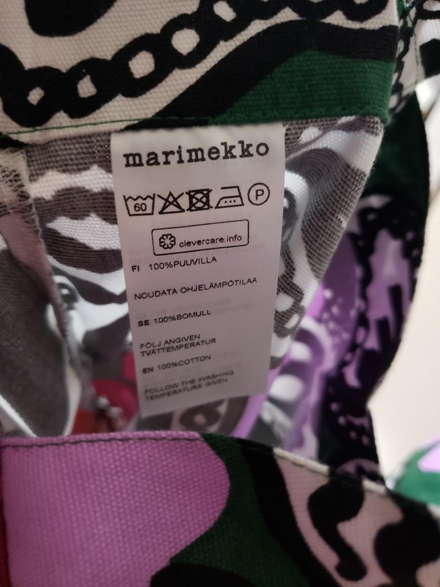marimekko☆マリメッコ トートバッグ☆エコバッグ花柄