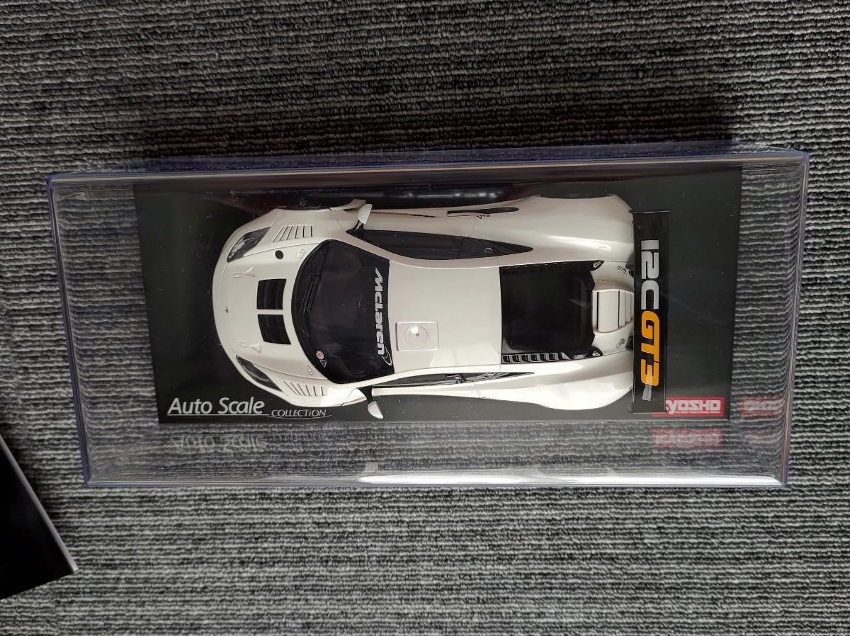 京商 ミニッツ マクラーレン 12C GT3 2013 ホワイト ASC y5q