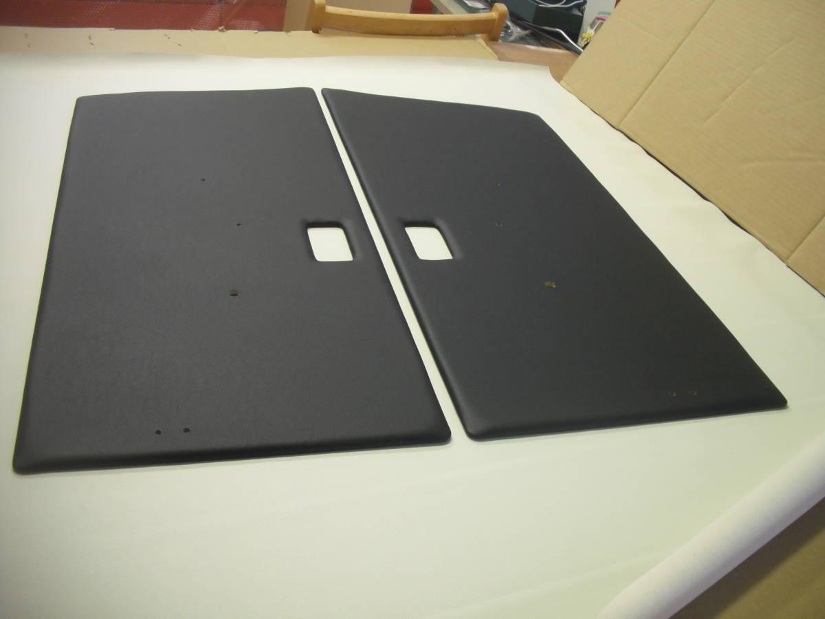 ジムニーSJ30、JA11.Fドアパネル黒レザー張りSET_画像1