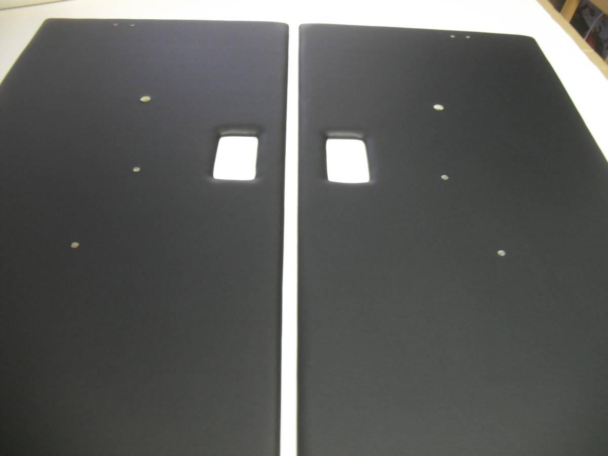 ジムニーSJ30、JA11.Fドアパネル黒レザー張りSET_画像4
