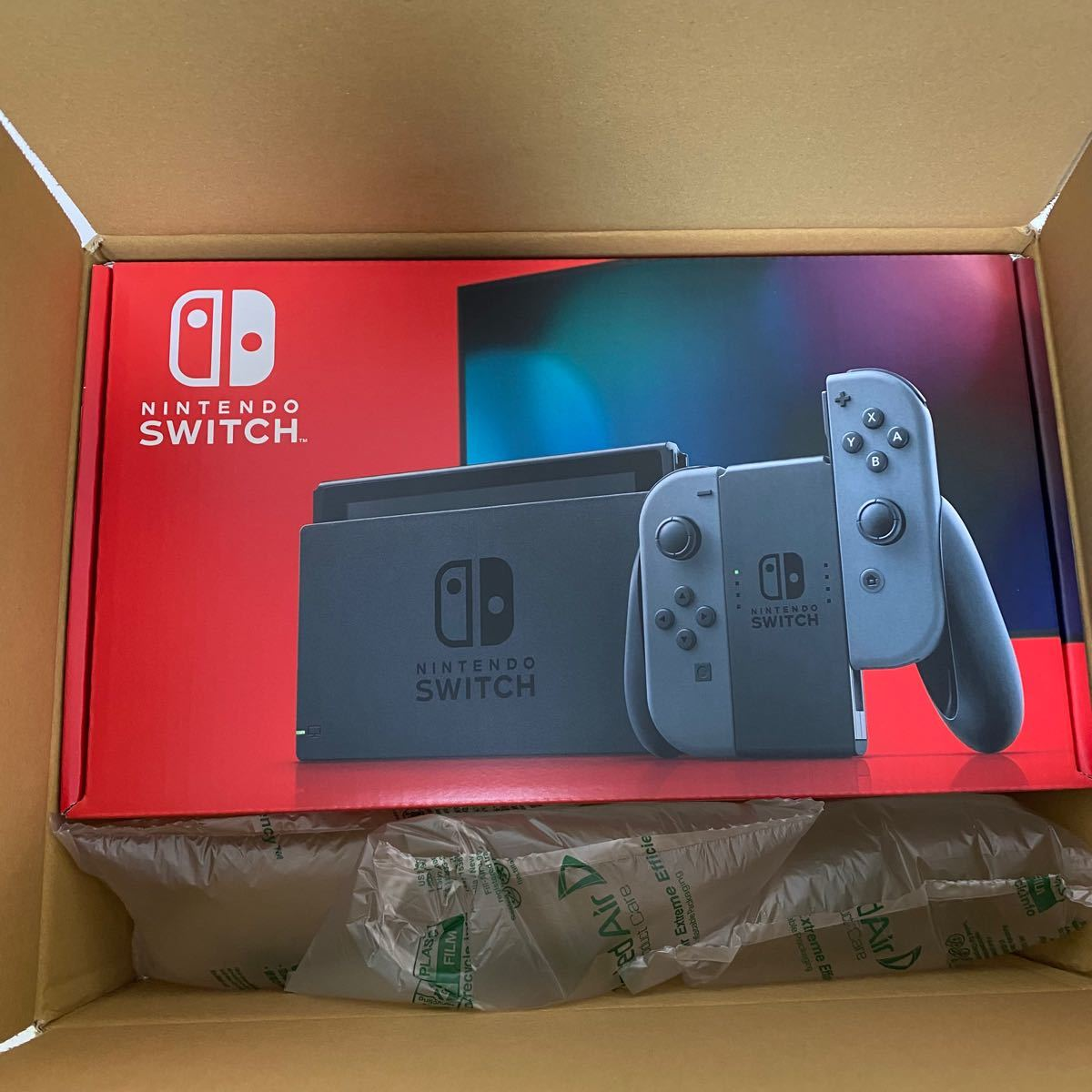 ニンテンドースイッチ グレー Switch本体 任天堂スイッチ Nintendo Switch ニンテンドー