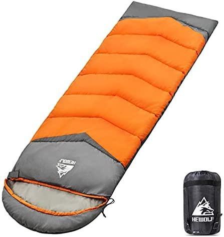 寝袋 シュラフ 封筒型 190T防水 軽量 保温 2個連結 丸洗い可能