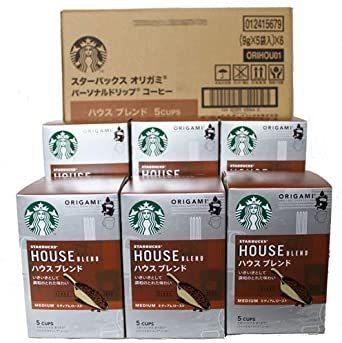 スターバックス 「Starbucks(R)」 ハウスブレンド (箱)オリガミ パーソナルドリップ コーヒー (9g×_画像1