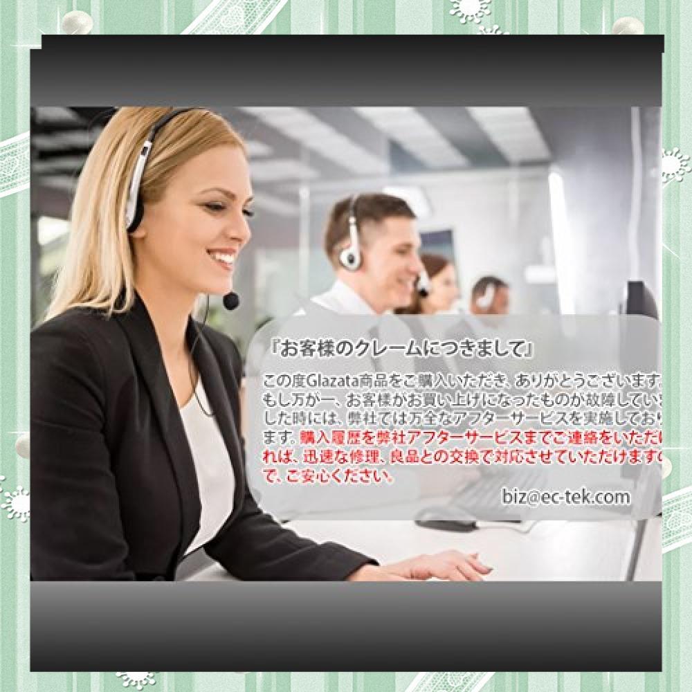 黒 Glazata Bluetooth 日本語音声ヘッドセット V4.1 片耳 高音質 ,超大容量バッテリー、長持ちイヤホン、3_画像7