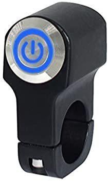新品ヘッドライトフォグスポットライトON/OFFスイッチ 防水 12V 22mmハンドルバーオートバイ用FARW_画像1