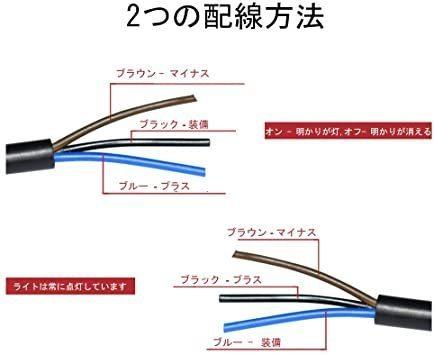 新品ヘッドライトフォグスポットライトON/OFFスイッチ 防水 12V 22mmハンドルバーオートバイ用FARW_画像5