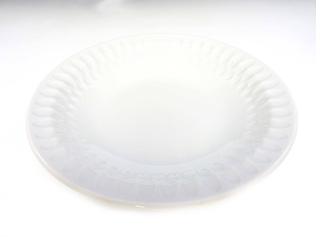 ★【非売品】昭和レトロ 未使用保管品 コカコ-ラ 白いファッション皿 18枚セット デッドストック ノベルティ 企業物 販促 当時物 ファンタ_画像3