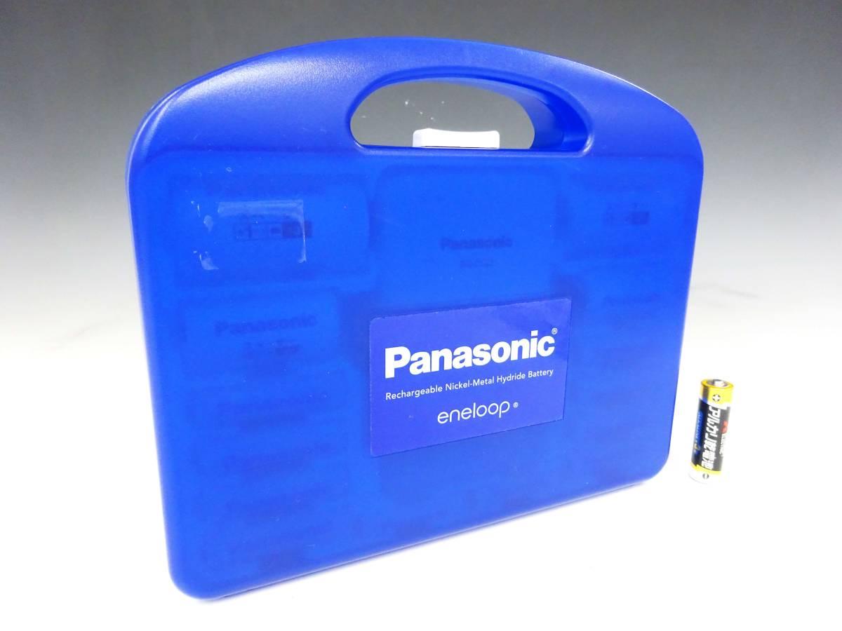 ◆①Panasonic eneloop エネループ 充電式ニッケル水素電池 充電器セット スペーサー 充電池 K-KJ22MCC84 1パナソニック 家電 _画像7