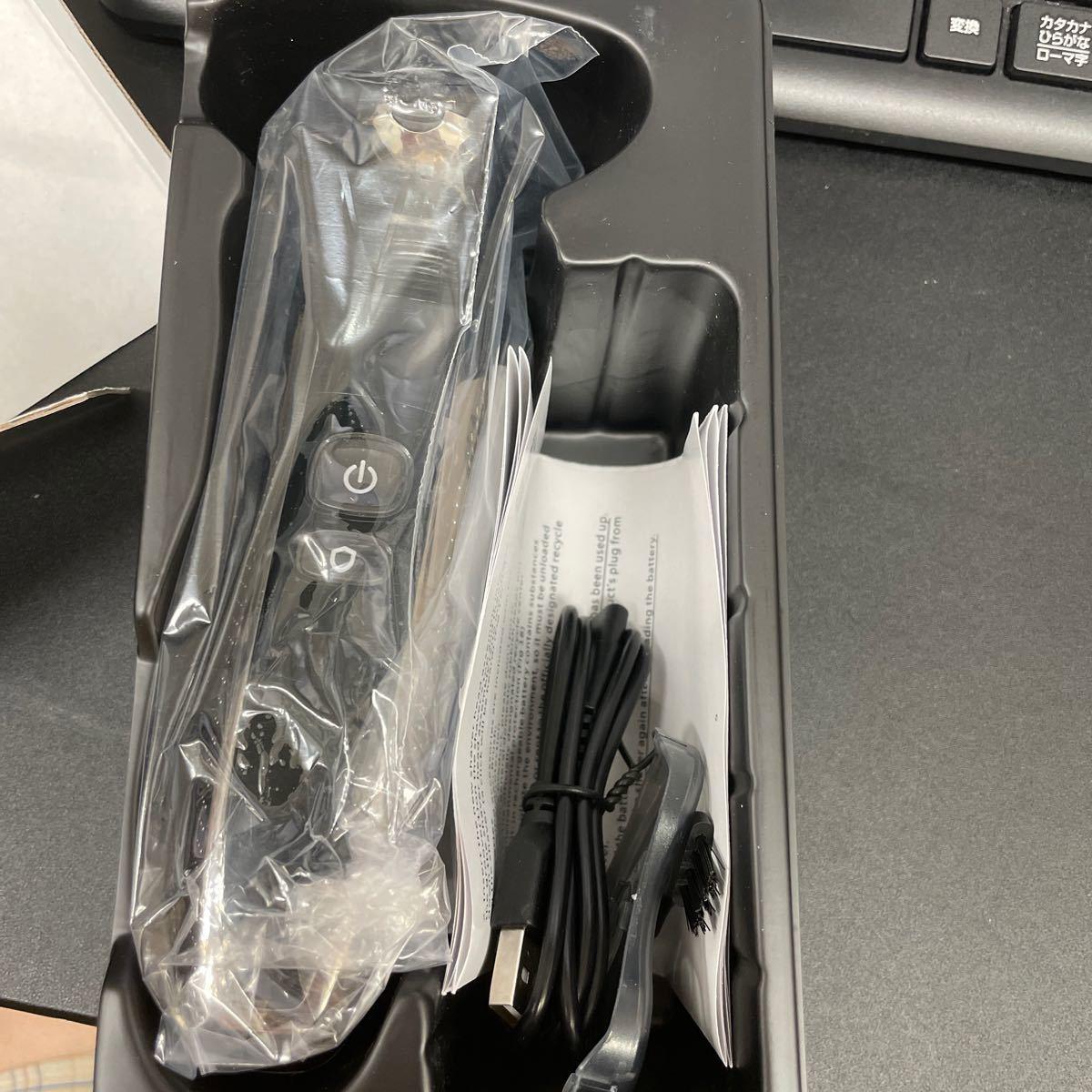 電気 シェーバー メンズ ひげそり 回転式 4枚刃 USB充電式 4D浮上刃 IPX6防水 お風呂剃り可 LED電池残量表示