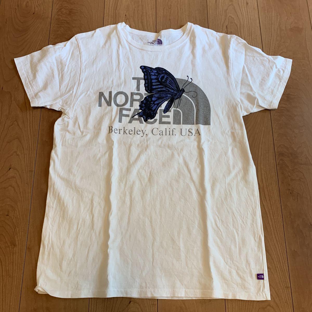 THE NORTH FACE PURPLE LABEL/ノースフェイス パープルレーベル/Graphic Tee/グラフィック/nanamica/ナナミカ/NT3618N/半袖Tシャツ/M