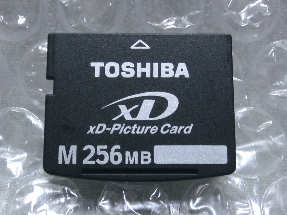 Toshiba xD Picture card 256MB TOSHIBA xD-Picture Card xD card