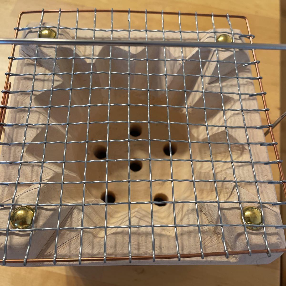能登燃焼器工業×BEAMS JAPAN 別注 切り出し七輪 17cm