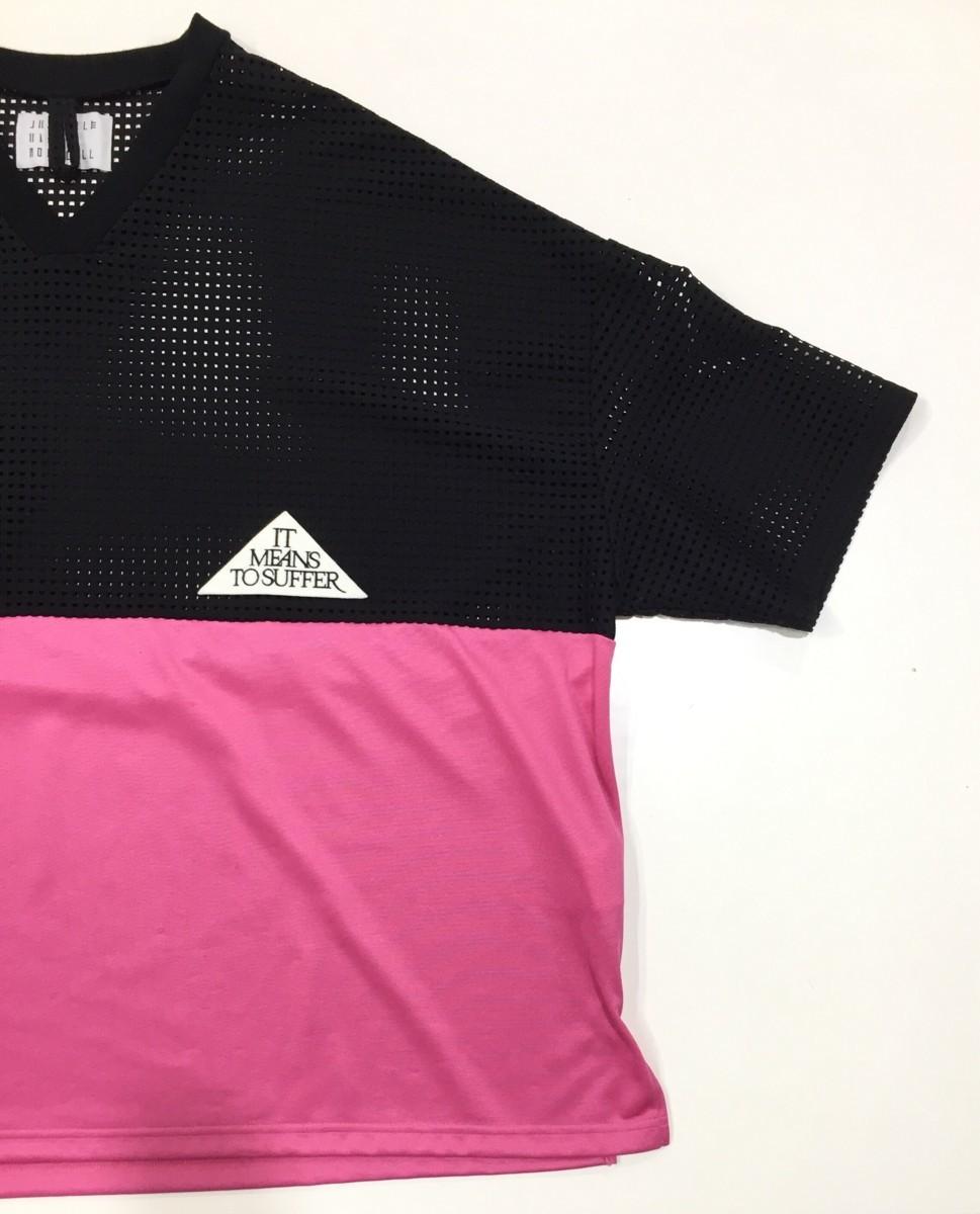 juvenile hall rollcall 1206 バイカラー メッシュ切替Tシャツ Fサイズ ジュヴェナイルホールロールコール プルオーバートップス_画像5