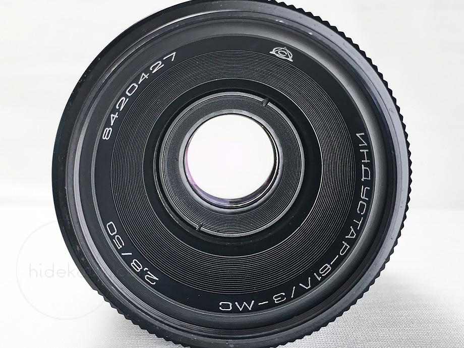 比較的いい状態)星ボケのインダスター【分解清掃済み・撮影チェック済み】 Industar-61 L/Z 50mm F2.8 M42_45i_画像6