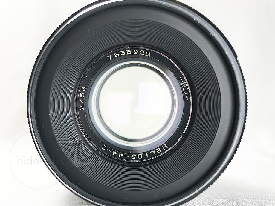 ぐるぐるボケのヘリオス【分解清掃済み・撮影チェック済み】Helios 44-2 58mm F2.0 M42マウント_50h_画像6