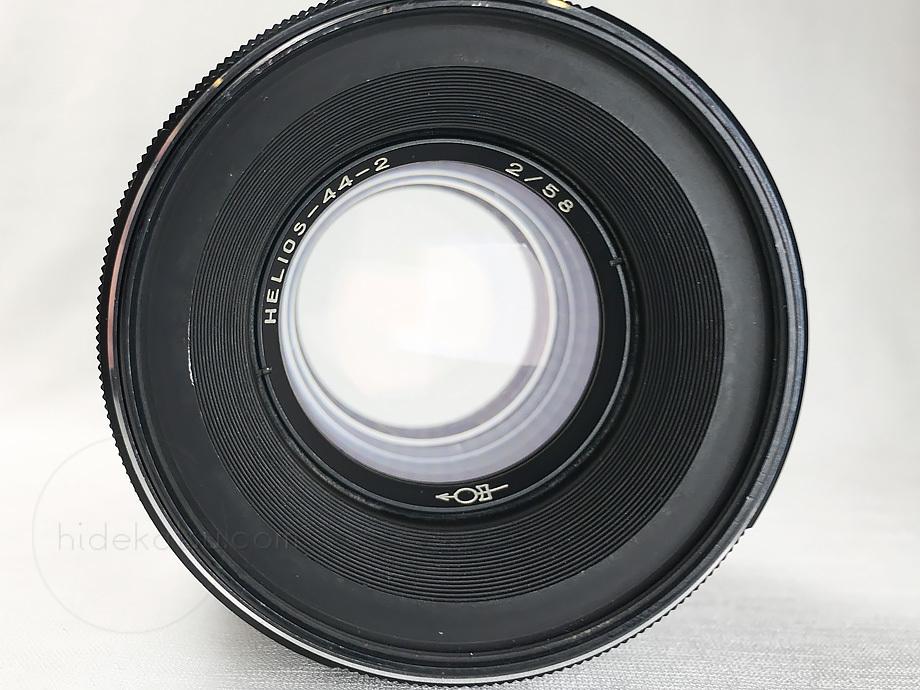 ぐるぐるボケのヘリオス【分解清掃済み・撮影チェック済み】Helios 44-2 58mm F2.0 M42マウント_51h_画像6