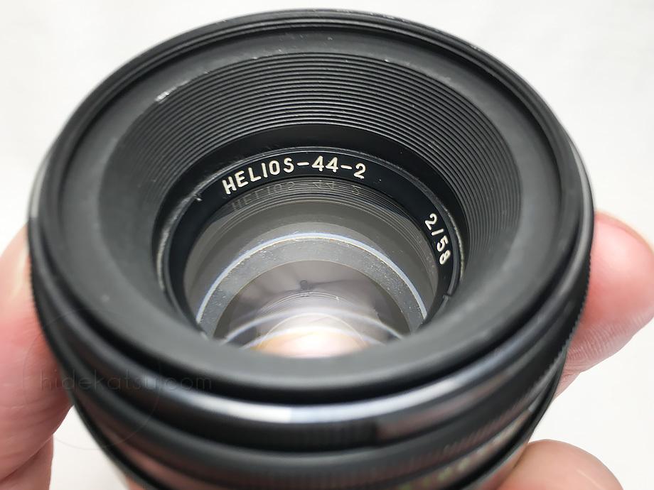 ぐるぐるボケのヘリオス【分解清掃済み・撮影チェック済み】Helios 44-2 58mm F2.0 M42マウント_51h_画像9