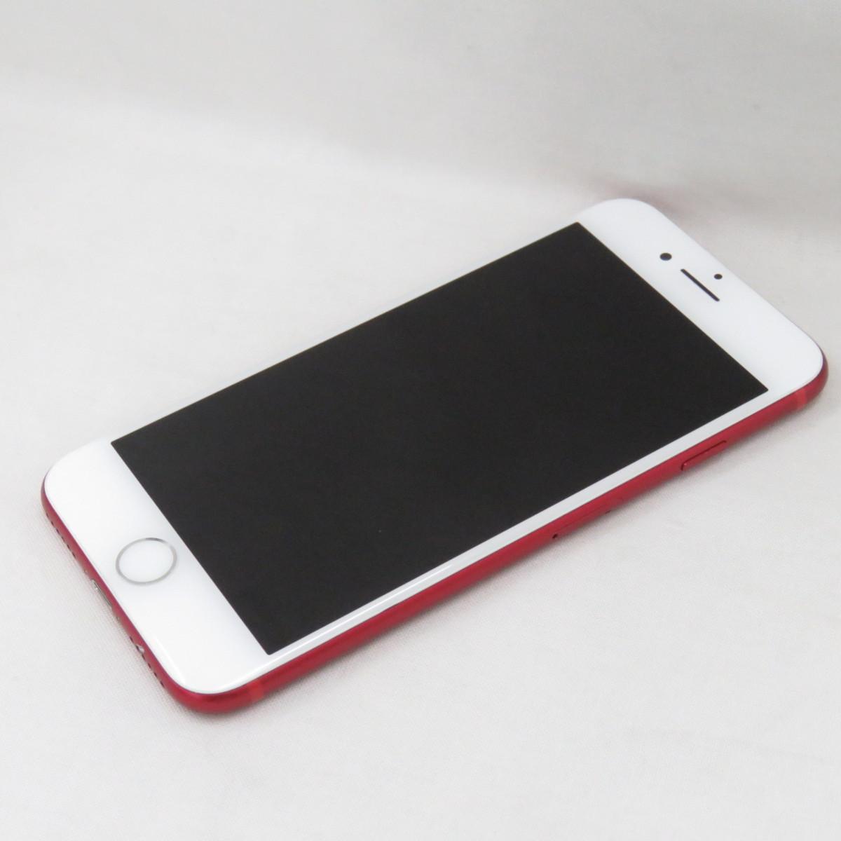 1円~【中古品】国内版SIMフリー スマートフォン Apple iPhone 7 128GB MPRX2J/A レッド 判定○ 941123702